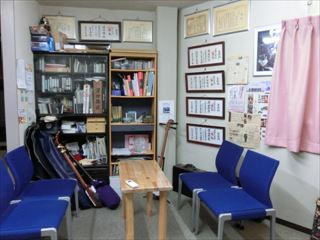 お久保津軽三味線教室 室内